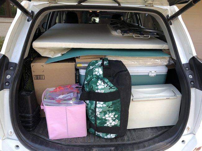 pack for an artist residency