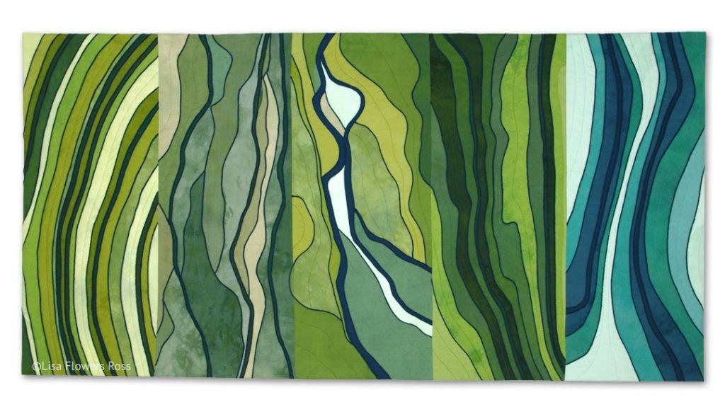 Portrait of Flathead Lake Artwork